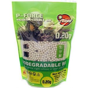 BucketCart Airsoft BB 1 P-Force Super Premium Bio-BB 0.20g/KG/Bag BCBPF2-BIO-KG