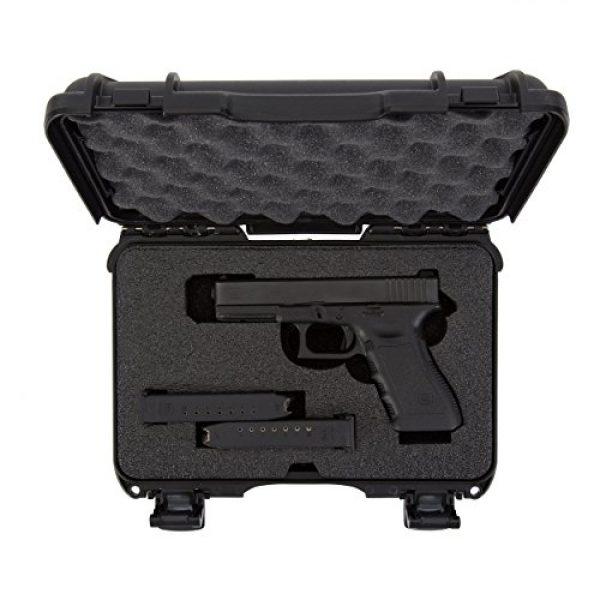 Nanuk Pistol Case 5 Nanuk 909 2UP Waterproof Hard Case w/Custom Foam Insert for Glock Pistols