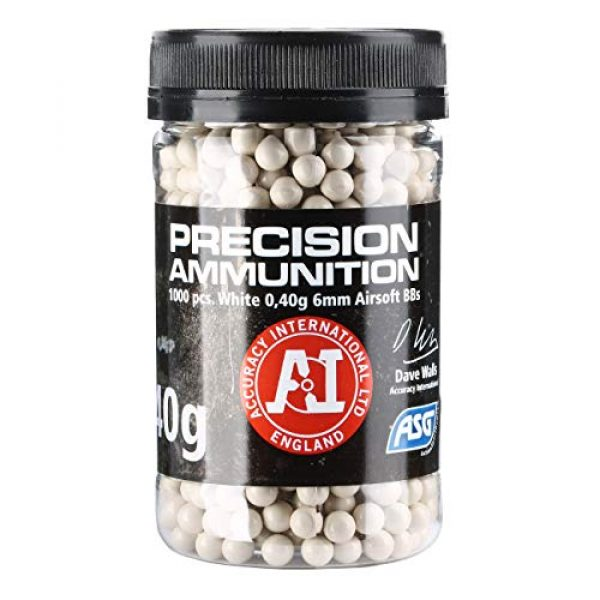 ASG Airsoft BB 2 ASG 040G BB Bottle 1000 Count White