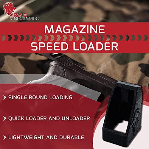 RAE Industries  6 RAEIND Magazine Speedloaders for Beretta Kimber EVO SP 9mm