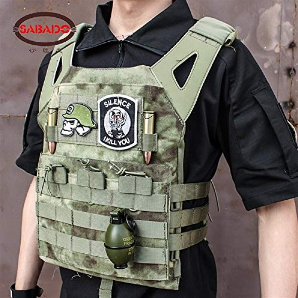 Shefure Airsoft Tactical Vest 3 Shefure Cardura Rip-Stop Military Tactical Combat Vests,Outdoor Hunting Waistcoats Anti-stab Thickening Paintball Vest