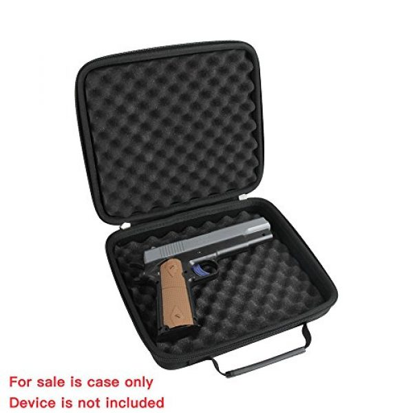Hermitshell Pistol Case 3 Hermitshell case fits Pistol Case Up to 8.5-Inch Revolver Barrel