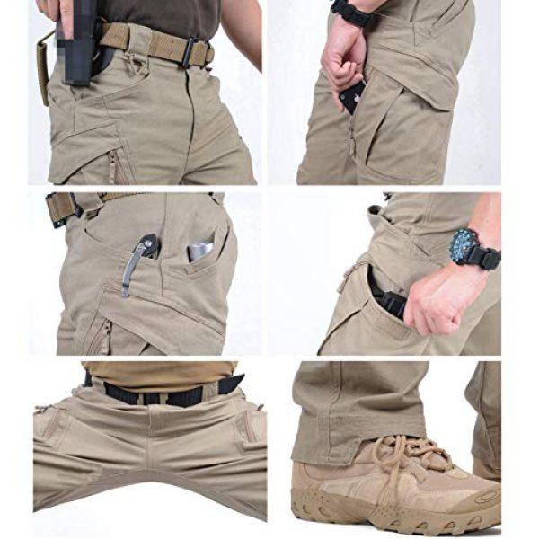 CARWORNIC Tactical Pant 5 Gear Men's Assault Tactical Pants Lightweight Cotton Outdoor Military Combat Cargo Trousers