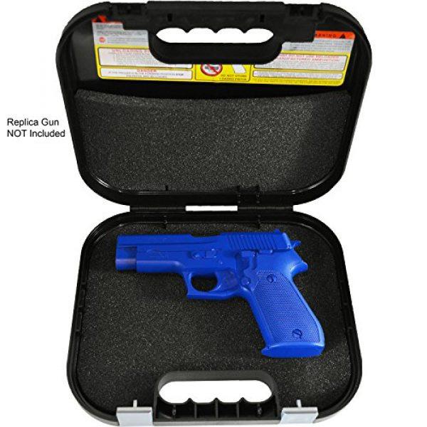 Glock Pistol Case 2 Glock Single Handgun Lockable Hard Black Pistol Case
