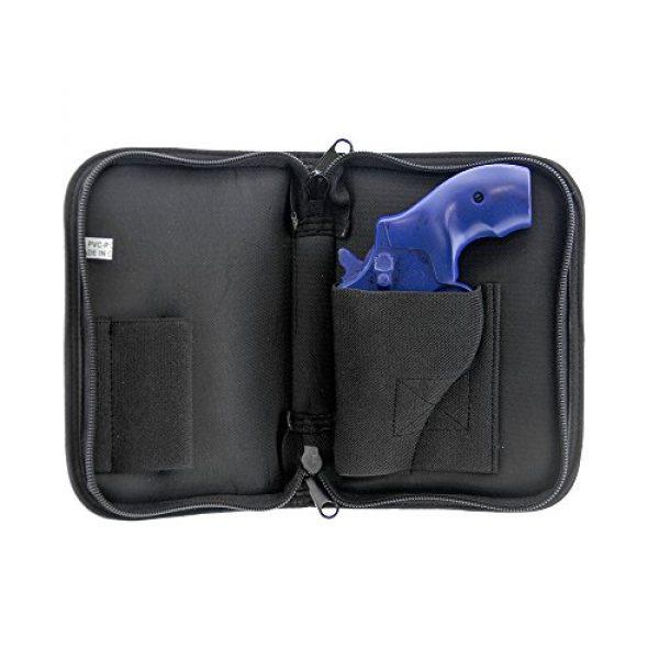 UTG Pistol Case 4 UTG Discreet Sub-compact Handgun Case for Pistol & Revolver
