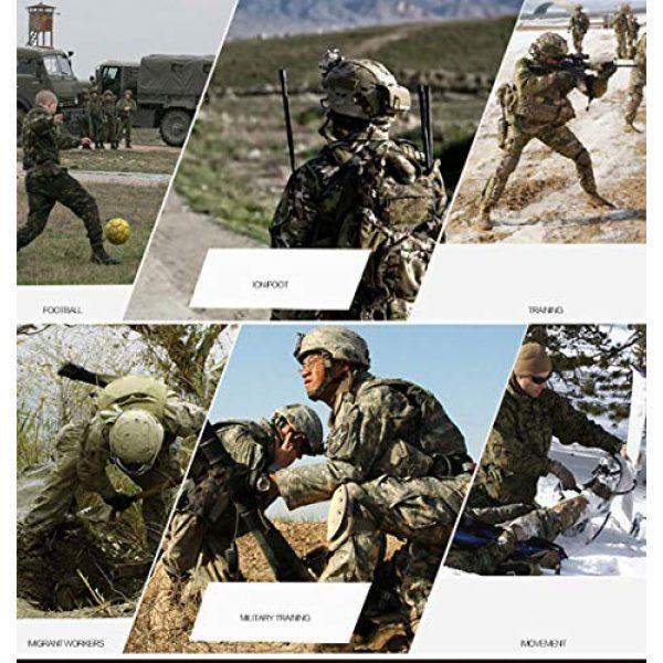 LANBAOSI Tactical Pant 6 Men's Airsoft Pants Multicam Tactical Military Camo Hunting Combat Cargo Uniform Pants