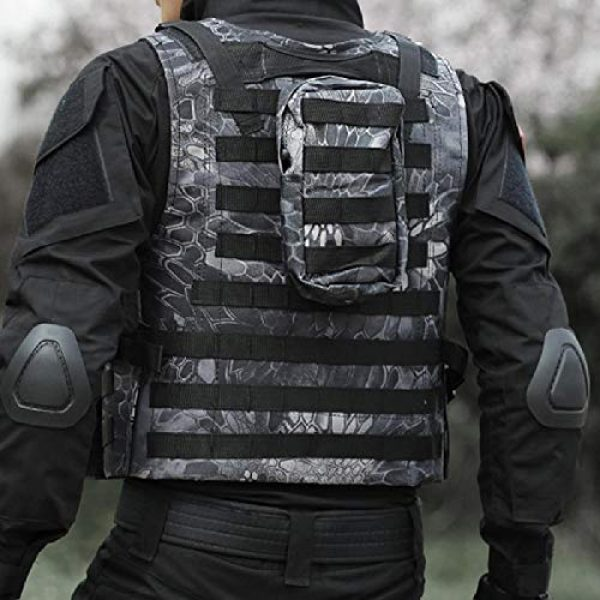BGJ Airsoft Tactical Vest 4 BGJ Tactical Vest Military Airsoft Assault Molle Vest Outdoor Clothing Hunting Equipment Camouflage Vest Combat Vest
