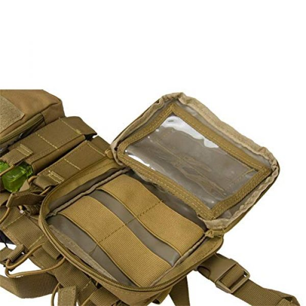 Shefure Airsoft Tactical Vest 6 Shefure CS Match Wargame TCM Chest Rig Airsoft Tactical Vest Military Pack Magazine Pouch Holster Molle System Waist Men Nylon