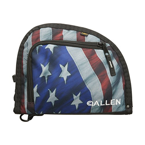 "Allen Company  1 Allen One Pocket 9"" Auto-Fit Handgun Case"