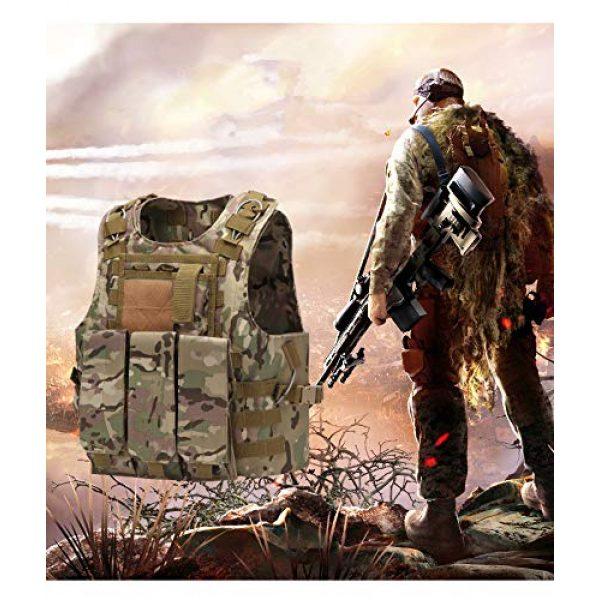 NEW VIEW Airsoft Tactical Vest 2 NEW VIEW Tactical Vests Amphibious Combat Vest