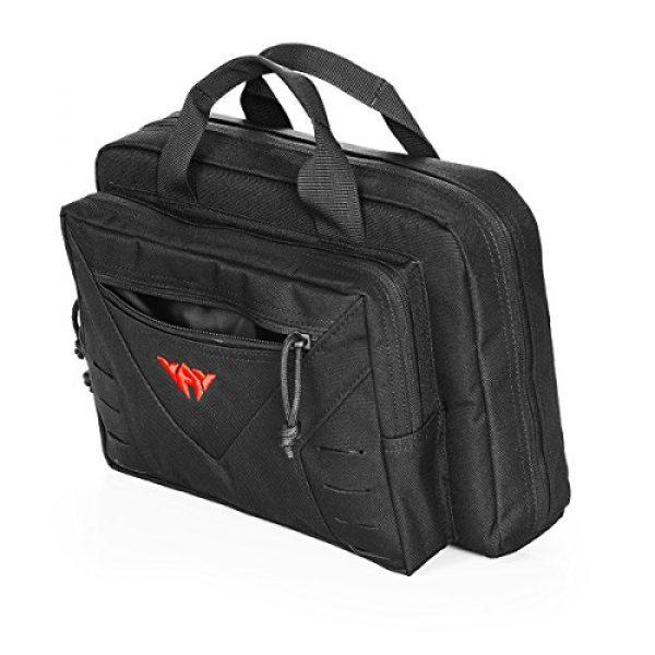 CAMO Pistol Case 1 CAMO Tactical Double Pistol Case Soft Gun Bags for Handguns 10L