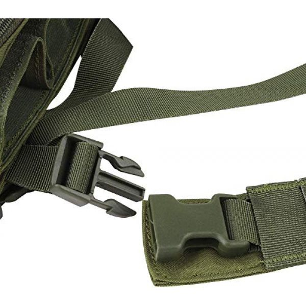 N/W Airsoft Tactical Vest 5 N/W Tactical Vest X Harness Rifle Pistol Magazine Pouch CRX Hunting Gear Accessories Chest Frame for Airsoft Paintball Shooting
