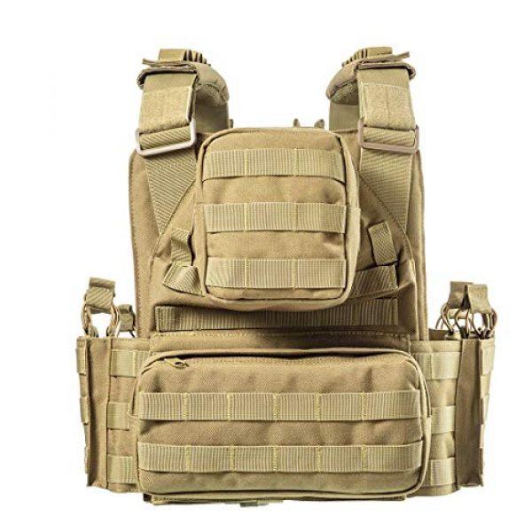 CAMO Airsoft Tactical Vest 3 CAMO Tactical Outdoor Vest