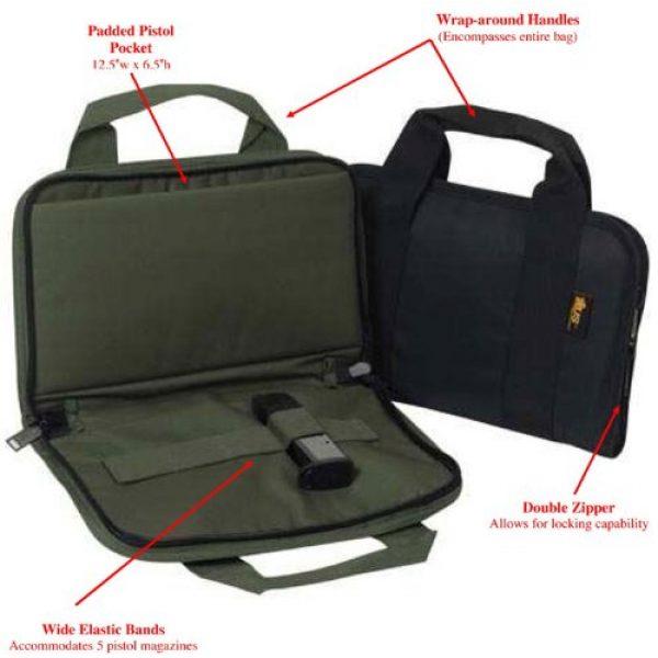 US PeaceKeeper Products Pistol Case 3 US Peacekeeper Attache Gun Case