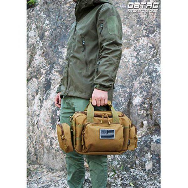 DBTAC Pistol Case 2 DBTAC Range Bag Small for 2X Pistol (Tan) + Pistol Handbag XS for 1~2 Pistol (Tan), Lockable Zipper, Durable Material, Compact Design