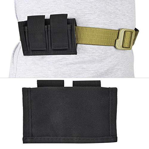 Alomejor  6 Alomejor Bullet Bag Magazine Pouch for Shotguns Nylon High Speed Shotshell Carrier Holder for Outdoor Hunting Training