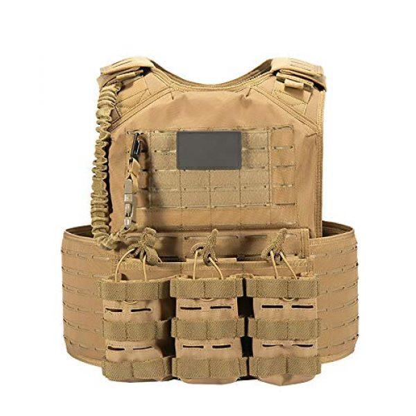 WEQ Airsoft Tactical Vest 2 WEQ CS Tactical Vest Modular Vest Outdoor Sports Camouflage Vest Combat Training Vest