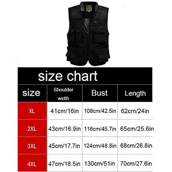 ZHYLOVE Airsoft Tactical Vest 4 ZHYLOVE Multifunction Mens Fishing Vest Jacket Mesh Vest Sleeveless Multi-Pocketed Thin Section Outdoor Breathable Hollow Out Thin for Camping Photography Fishing Hunting Waistcoat