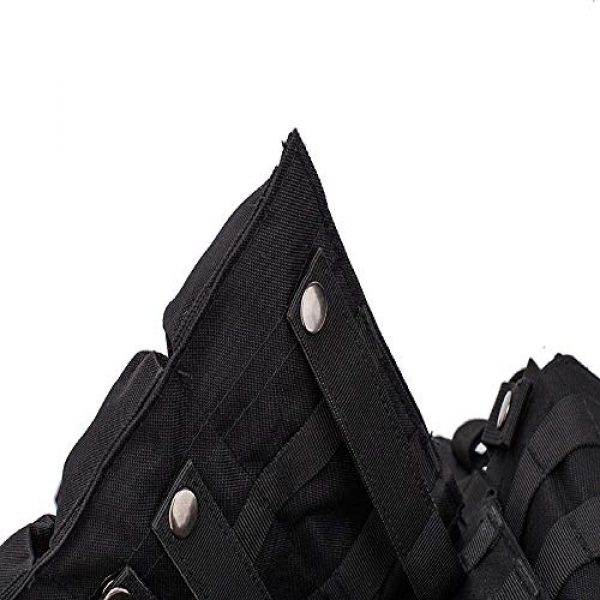 BGJ Airsoft Tactical Vest 3 Hunting Airsoft Multicam Molle Nylon Modular Vest Tactical Combat Black Vests Outdoor 6094 Vests Military Men Clothes Army Vest