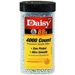 Daisy Air Gun Pellet 1 Daisy Ammunition and CO2 40 4000 ct BB Bottle