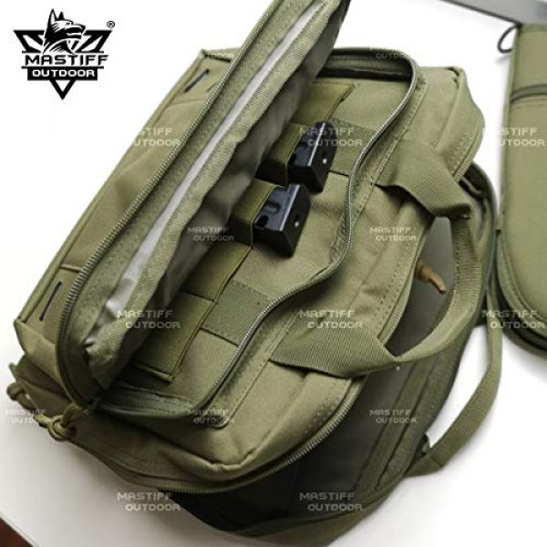 Mastiff Outdoor Pistol Case 6 Mastiff Outdoor Tactical Pistol Case Handgun Bag Hunting Shooting Range Magazine Pouch