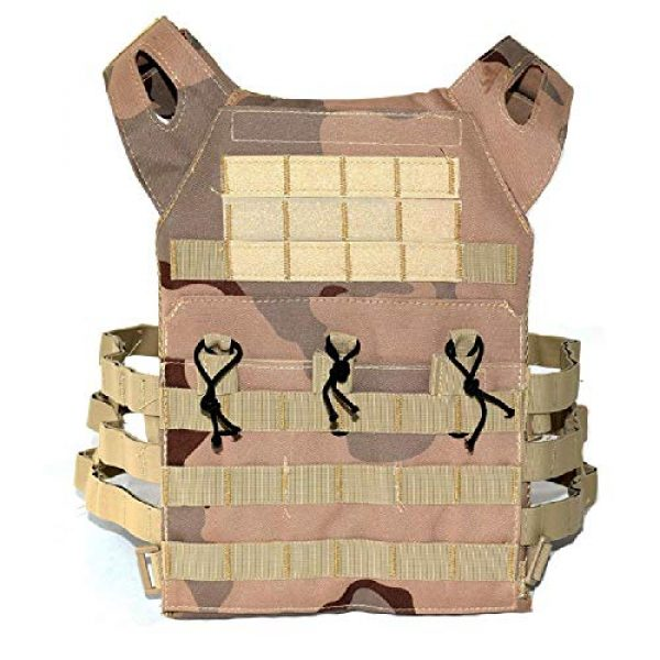 BGJ Airsoft Tactical Vest 7 BGJ Men Hunting Airsoft Paintball Sport Protective Vest Tactical Plate Carry JPC Vest Camoufalge Military Army Molle Carrier Vest