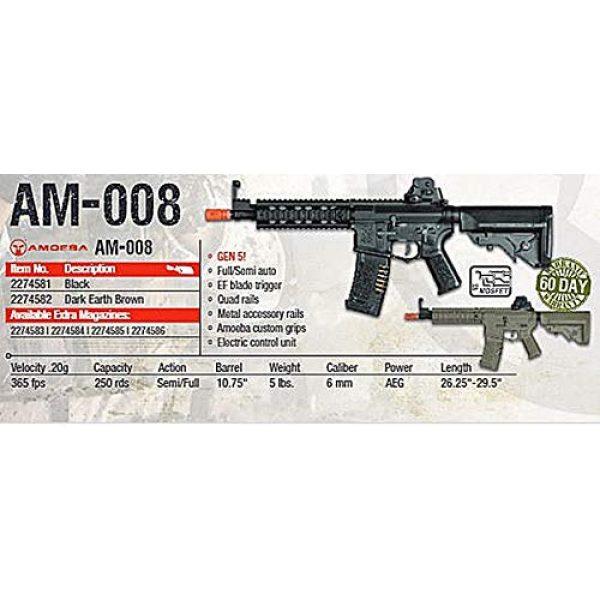 Elite Force Airsoft Rifle 3 Elite Force Amoeba AM-008 AEG Automatic 6mm BB Rifle Airsoft Gun, FDE