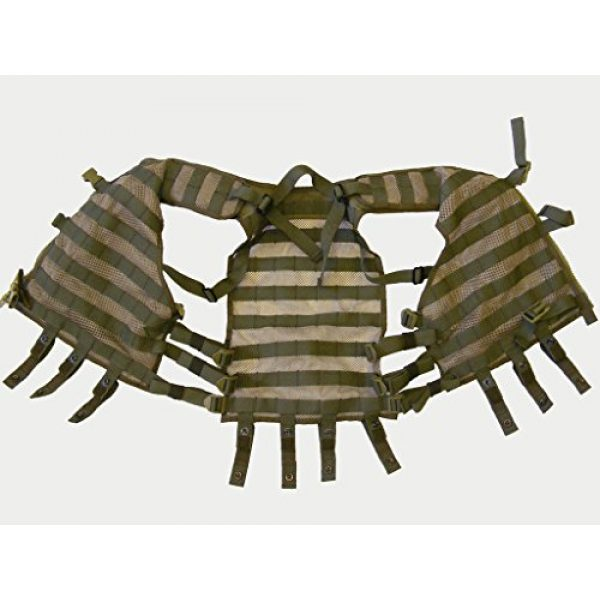SSO/SPOSN Airsoft Tactical Vest 3 SSO/SPOSN Russian Military Vest Universal Base MOLLE