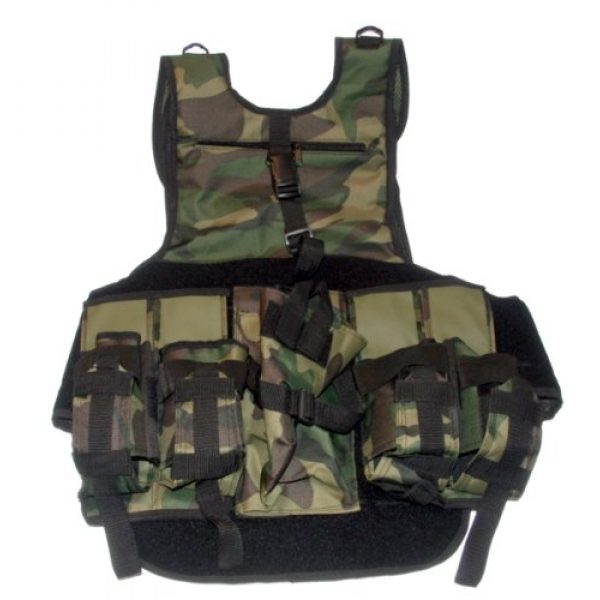 GXG Airsoft Tactical Vest 2 GXG Army Swat Paintball Airsoft Tactical Vest Camo