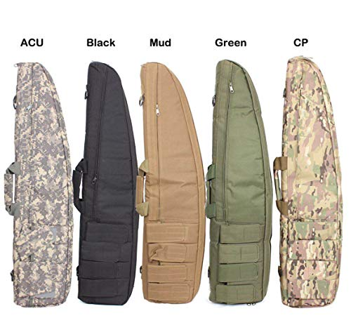 Water dust Resistant Long Gun case Bag for Hunting Shooting Range Sports Storage and Transport
