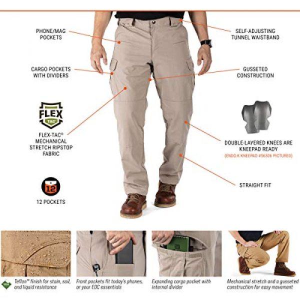 5.11 Tactical Pant 5 Tactical Men's Stryke Operator Uniform Pants w/Flex-Tac Mechanical Stretch, Style 74369