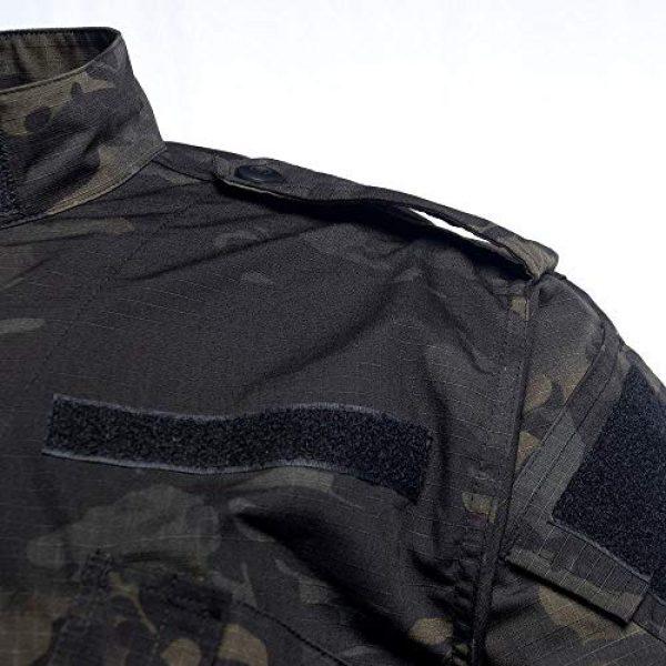 AKARMY Tactical Shirt 3 Unisex Lightweight Military Camo Tactical Camo Hunting Combat BDU Uniform Army Suit Set