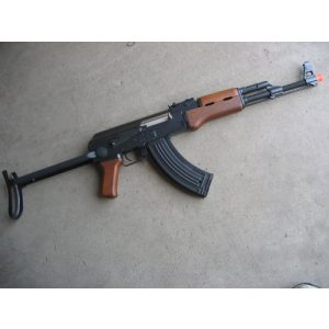 Double Eagle Airsoft Rifle 1 Double Eagle AK-47S Metal Electric 425 FPS Airsoft Assault Rifle Gun