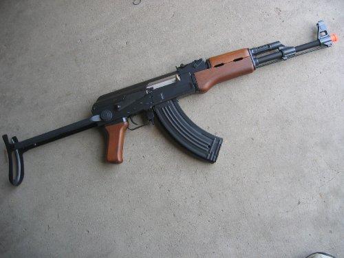 Double Eagle  1 Double Eagle AK-47S Metal Electric 425 FPS Airsoft Assault Rifle Gun