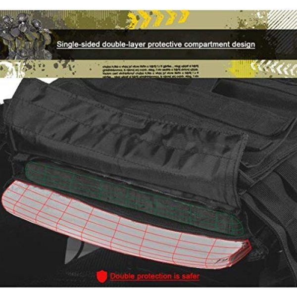 HAOWUTX Airsoft Tactical Vest 7 HAOWUTX Multipurpose Outdoor Tactical Vest Field Sports Tactical Equipment (Color : Upgradedcp)