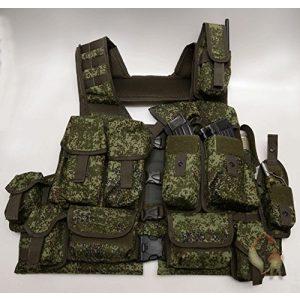 Sotnic Airsoft Tactical Vest 1 Sotnic Russian Military Granite TU Tactical Assault Vest-Set