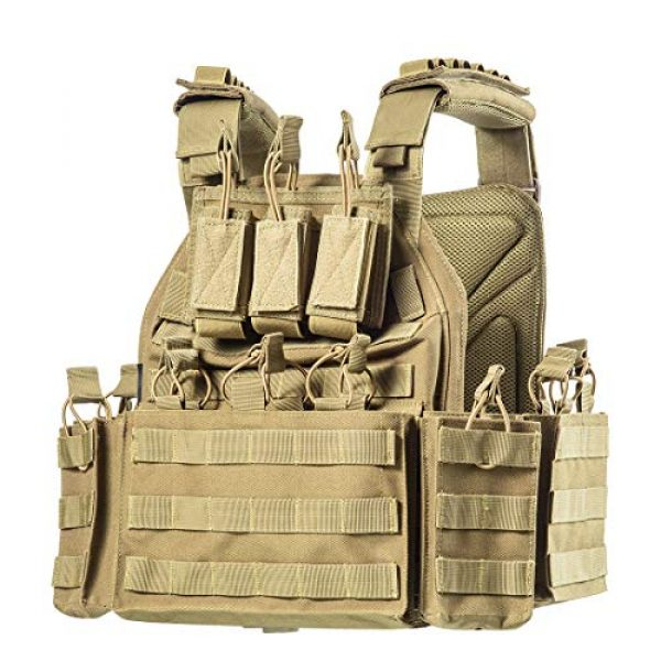 CAMO Airsoft Tactical Vest 2 CAMO Tactical Outdoor Vest