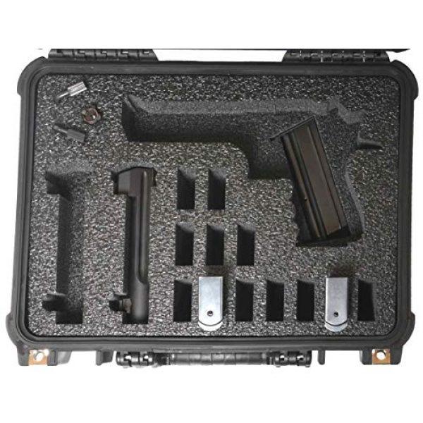 Case Club Pistol Case 3 Case Club Desert Eagle Fully Loaded Pre-Cut Waterproof Case