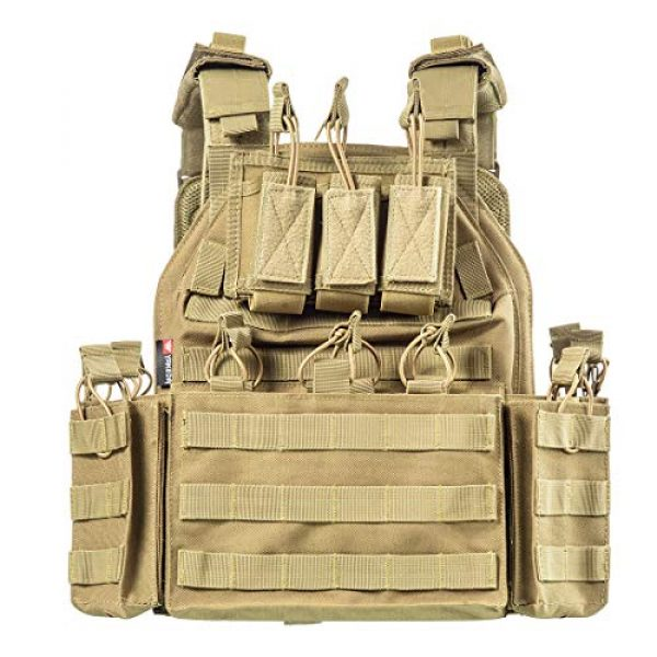 CAMO Airsoft Tactical Vest 1 CAMO Tactical Outdoor Vest