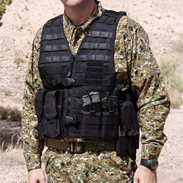 5.11 Airsoft Tactical Vest 6 5.11 LBE Vest Black, Regular