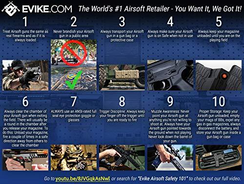 Evike  4 Evike Airsoft - A&K Mk12 SPR Airsoft AEG Sniper Rifle (Model: SPR Mod 1)