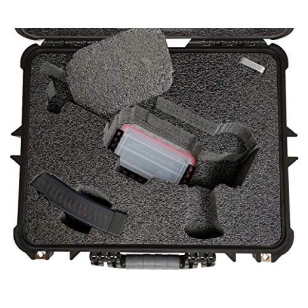 Case Club Pistol Case 3 Case Club CZ Scorpion EVO 3 S1 Pistol & S2 Pre-Cut Waterproof Pistol Case with Silica Gel to Help Prevent Gun Rust (Gen 2)