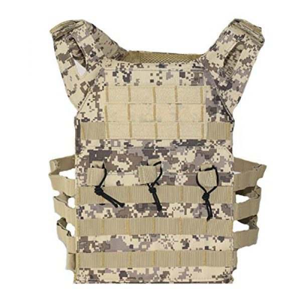BGJ Airsoft Tactical Vest 5 BGJ Men Hunting Airsoft Paintball Sport Protective Vest Tactical Plate Carry JPC Vest Camoufalge Military Army Molle Carrier Vest