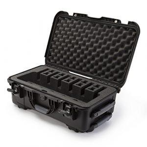 Nanuk Pistol Case 1 Nanuk 935 Waterproof Professional Gun Case with Foam Insert for 6UP w/Wheels