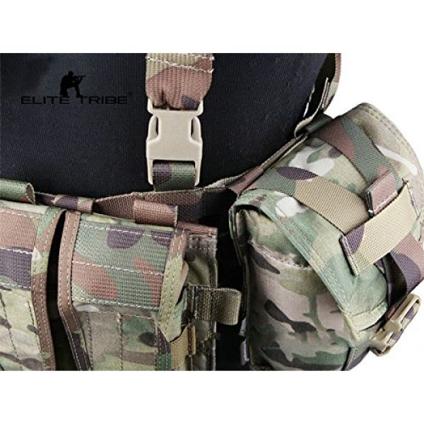 Paintball Equipment Airsoft Tactical Vest 3 Paintball Equipment Emerson Molle System Low Profile Chest Rig Multicam MC