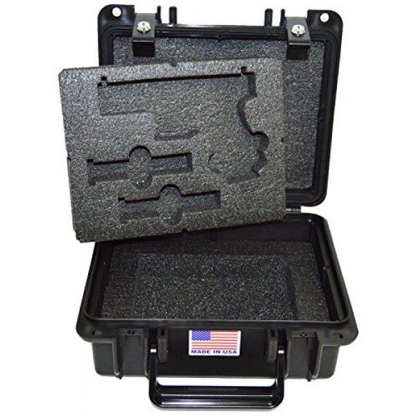 Quick Fire Cases Pistol Case 1 Quick Fire Cases QF300G2L Pistol Case, Black, Small