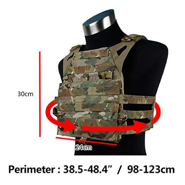 BGJ Airsoft Tactical Vest 5 TMC Tactical Vest Jump Plate Carrier JPC 2.0 Maritime Ver Ranger Green MOLLE Body Armor Molle Vest Hunting Airsoft Tactical Gear