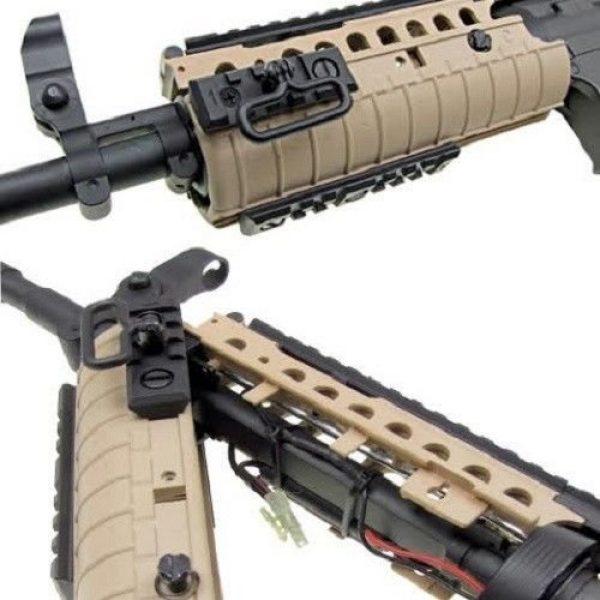 Jing Gong (JG) Airsoft Rifle 4 jing gong w4 metal gb aeg airsoft gun, extra mag, google's, 4350 bb's combo -tan(Airsoft Gun)