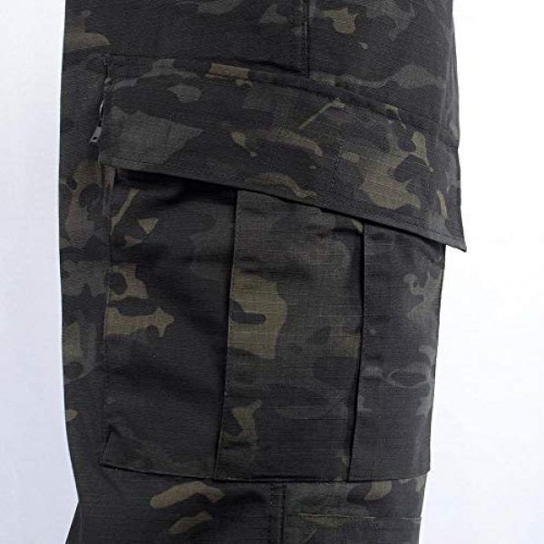 AKARMY Tactical Shirt 6 Unisex Lightweight Military Camo Tactical Camo Hunting Combat BDU Uniform Army Suit Set