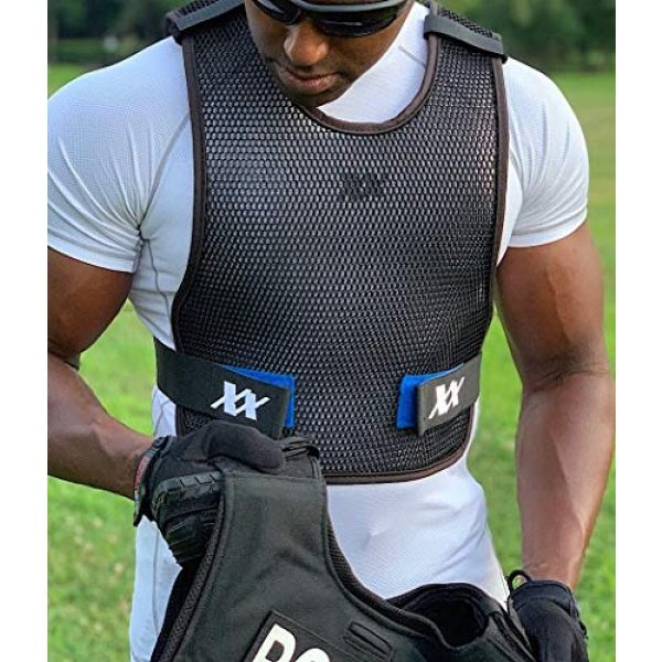 221B Tactical Airsoft Tactical Vest 3 221B Tactical Dry Cooling Vest - Body Armor Ventilation for Police, Military, Airsoft, Motorcycle, Paintball & Outdoor Games. Increase Air Flow Under Tactical Gear and Chest Rig/Carrier